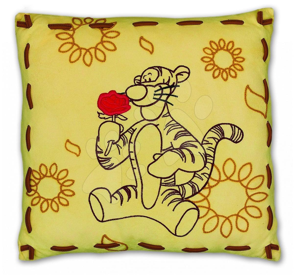Polštář pro děti Medvídek Pú Tygr Ilanit Luxury 36*36 cm od 2 let