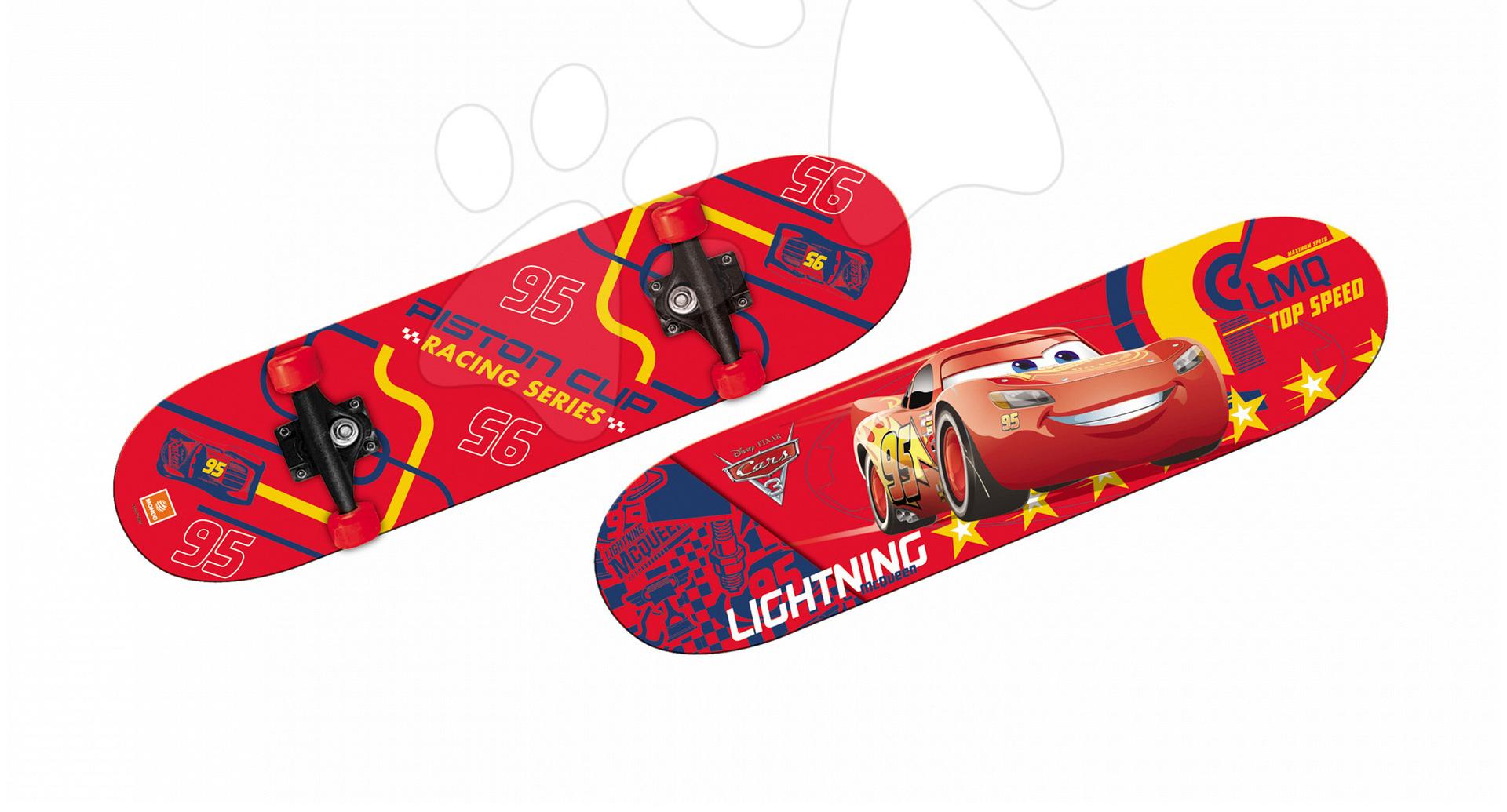 Detské skateboardy - Skateboard Autá Mondo s PVC kolieskami