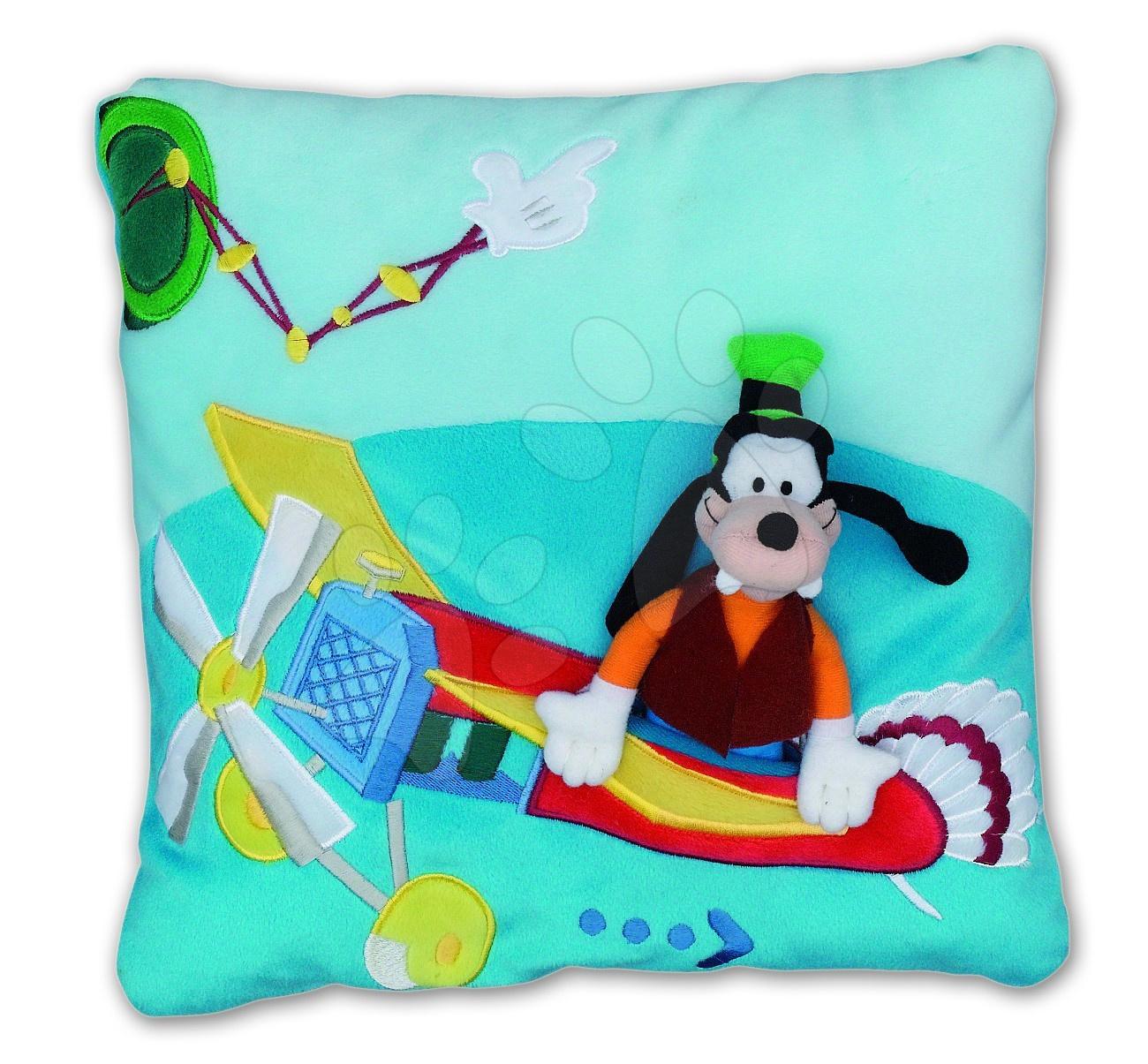 Polštář Mickey Mouse Club House Goofy Ilanit 36*36 cm