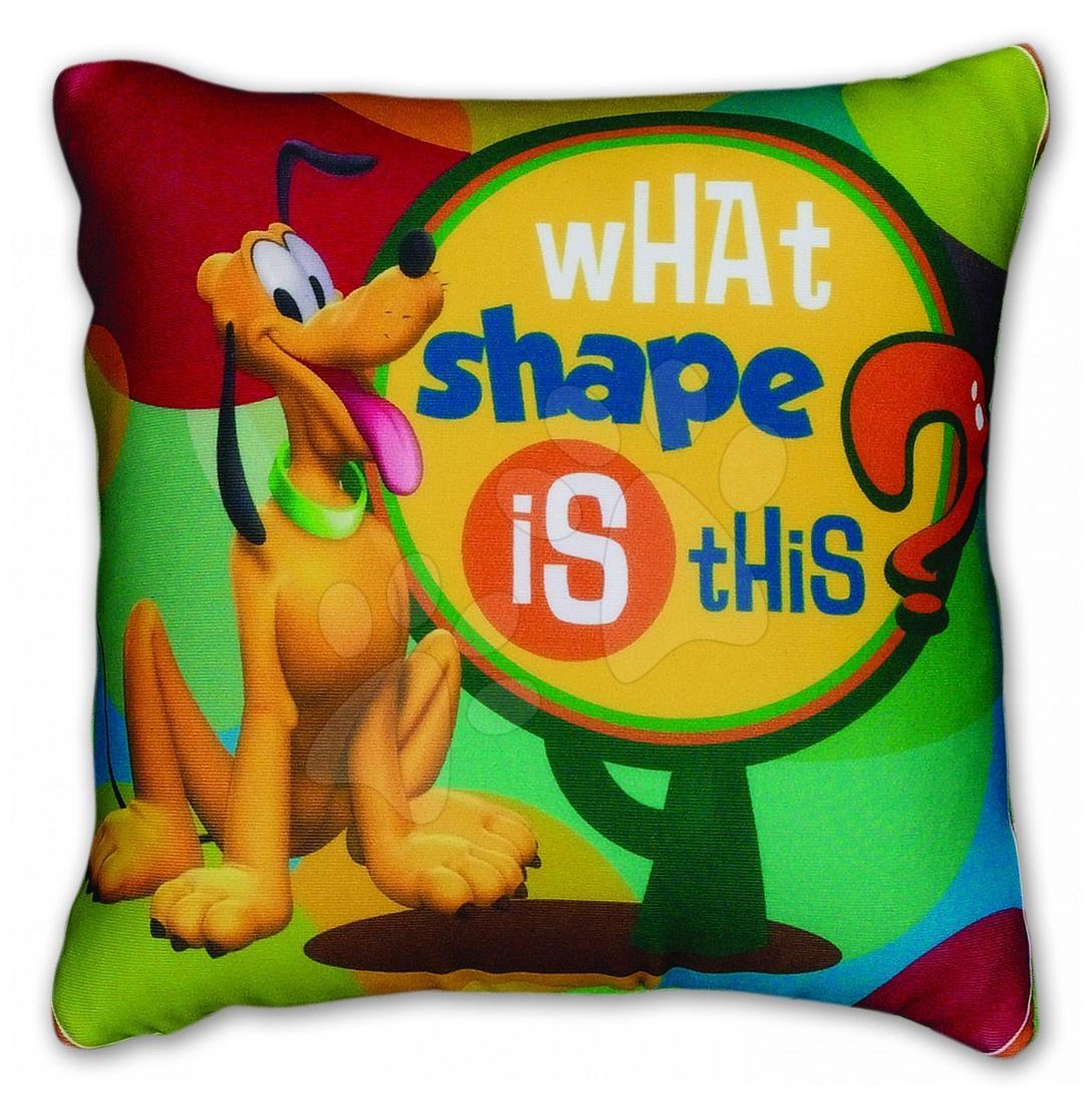 Microbeans Mickey Mouse Club House polštář - Pluto Ilanit 36*36 cm