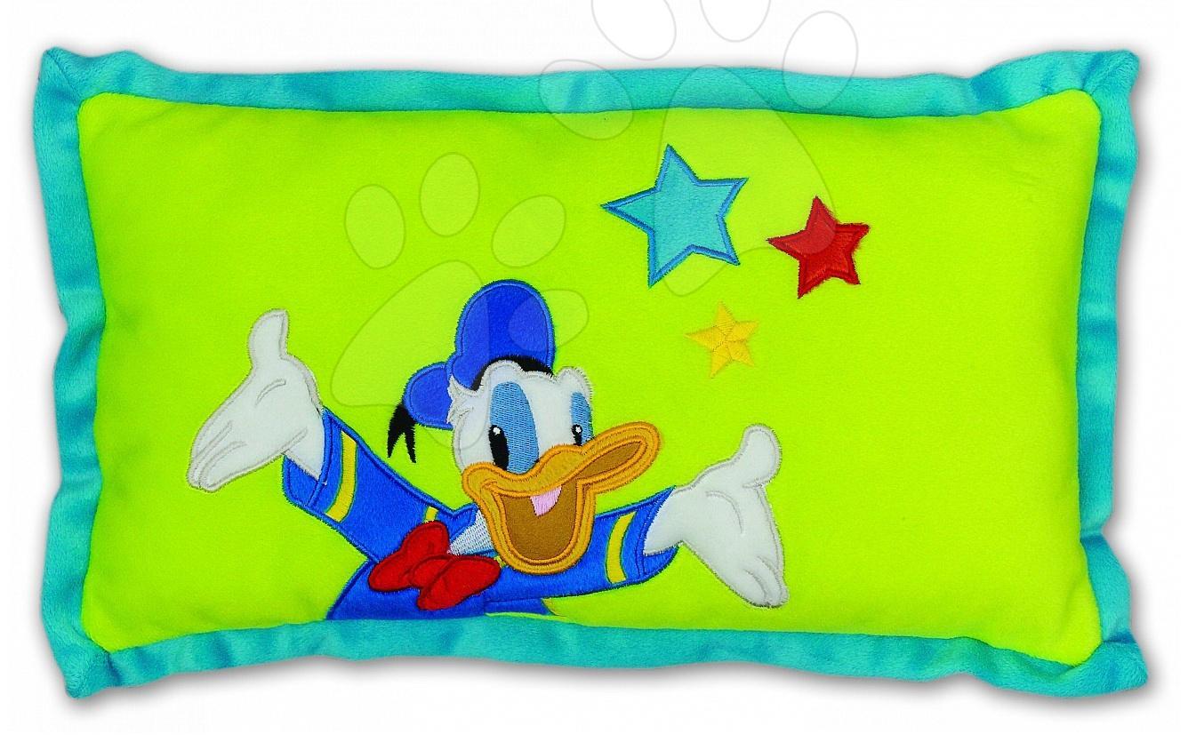 Plyšové vankúše - Vankúš Mickey Mouse Donald Ilanit 42*28 cm