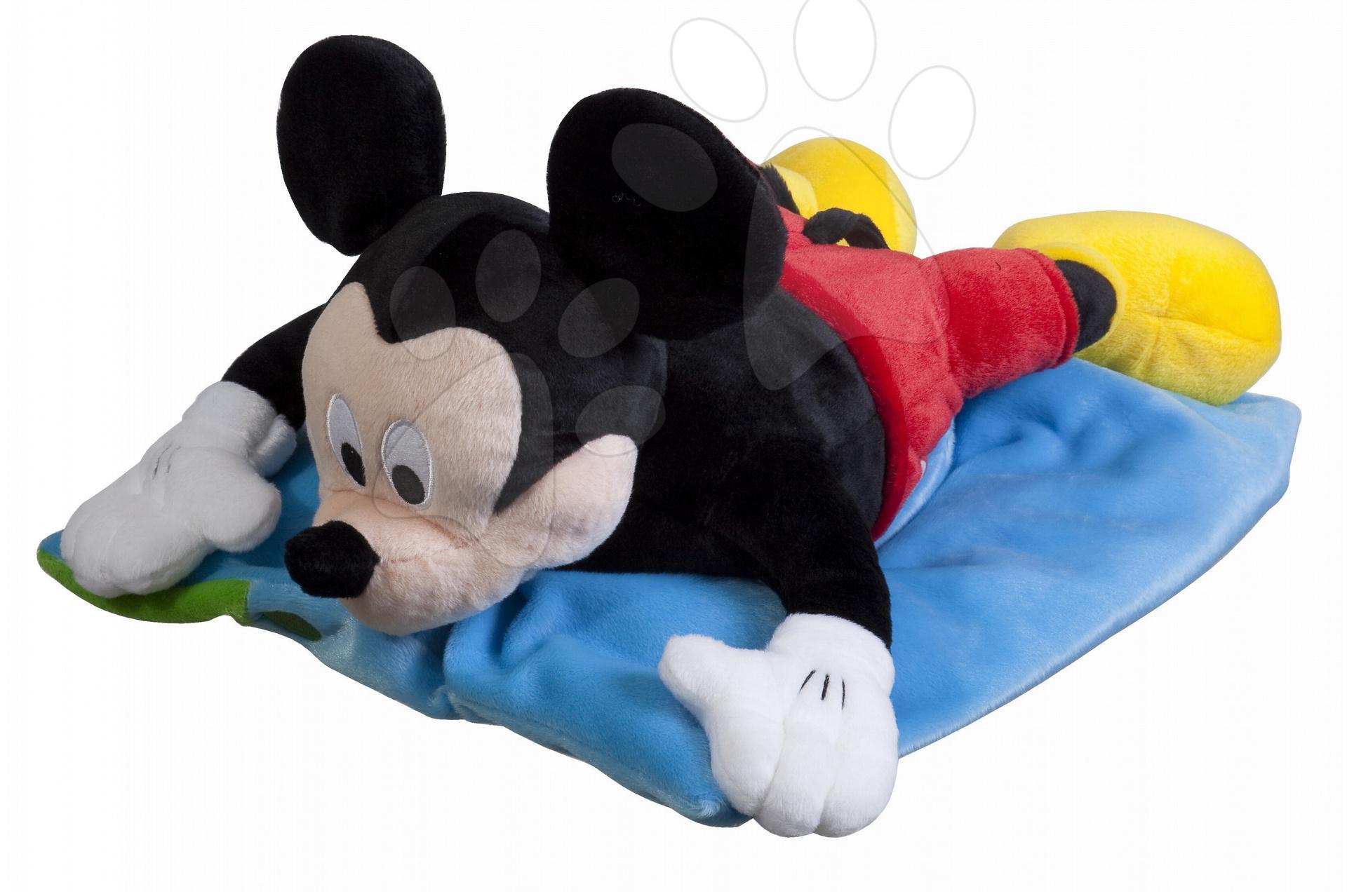 Plyšové postavičky - Vankúš Mickey Mouse 2v1 Ilanit