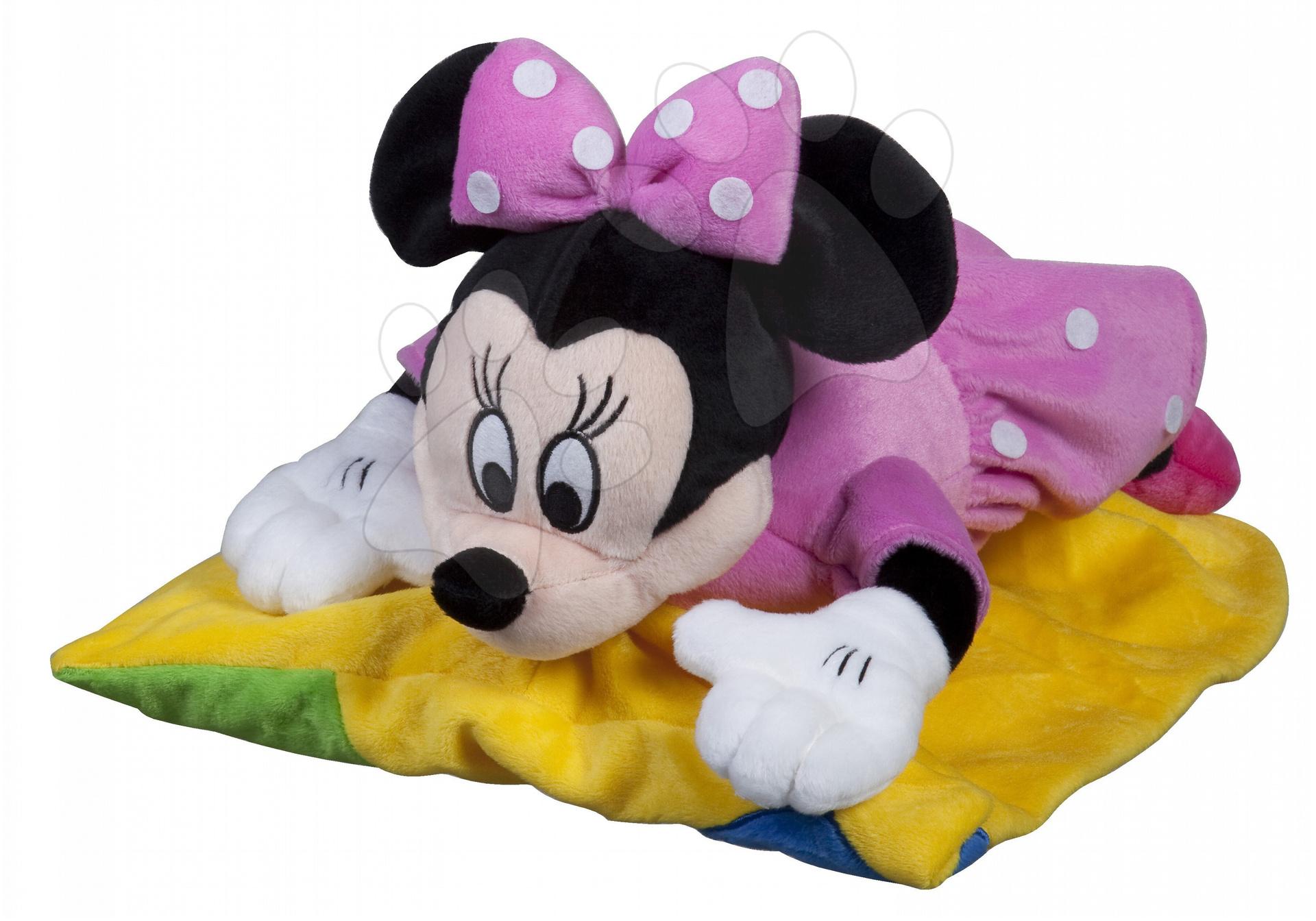 Plyšové postavičky - Vankúš Mickey Mouse vankúš 2v1 - Minnie Ilanit