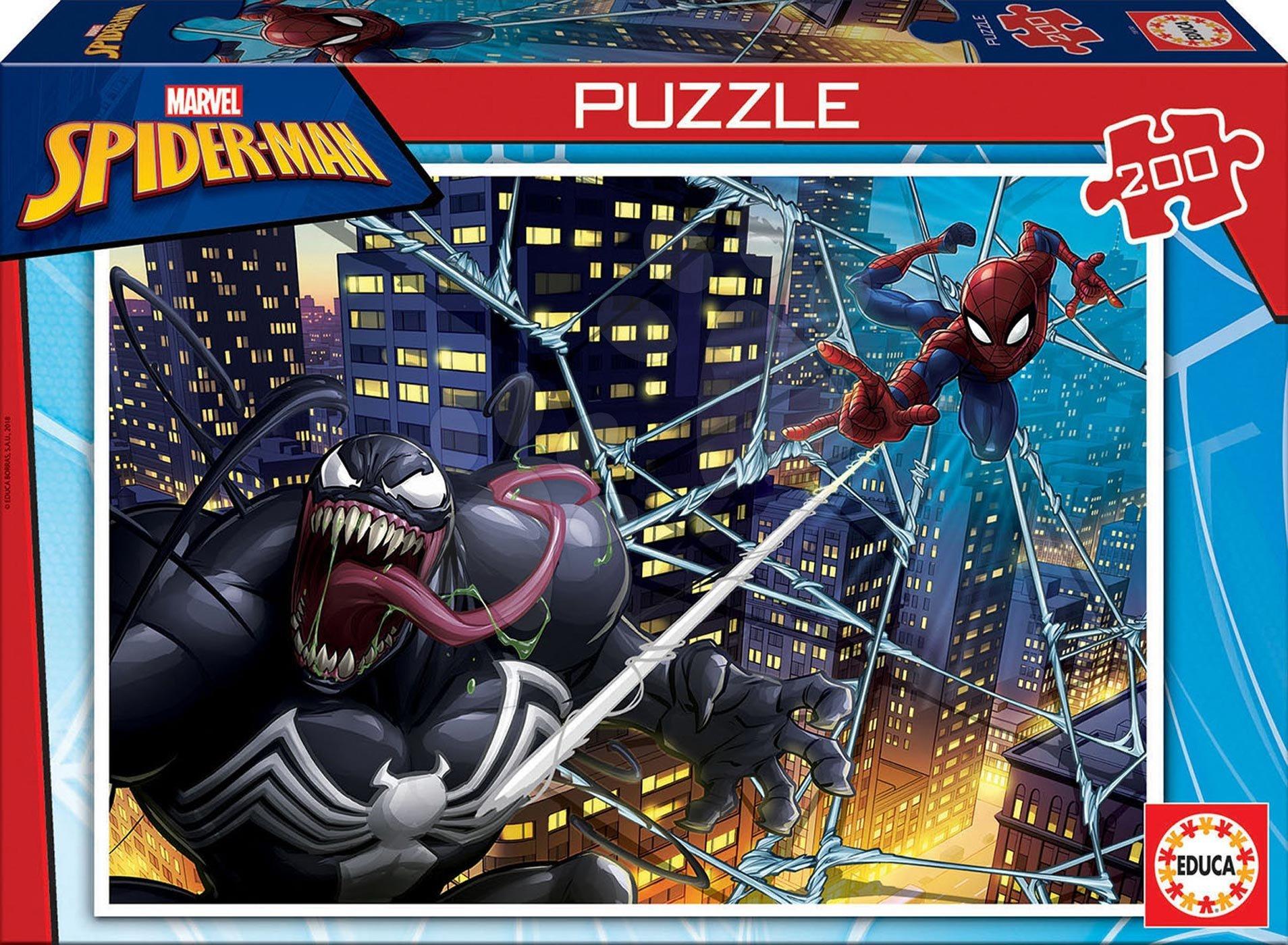 Puzzle pro děti Spiderman Educa 200 dílků od 6 let