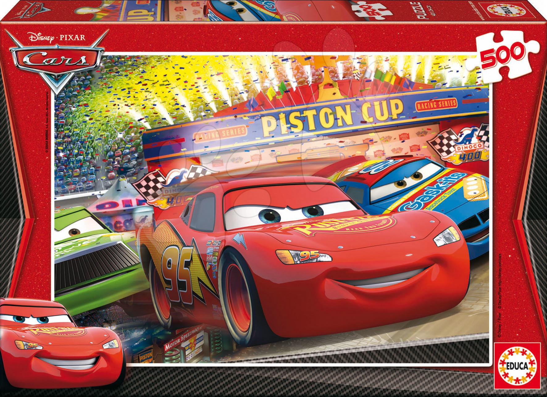 Puzzle Disney Family Cars Educa 500 dielov od 11 rokov