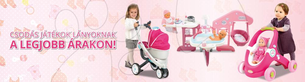 Csodás játékok lányoknak a legjobb árakon!