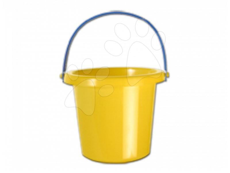 Kbelíky do písku - Kbelík Dohány žlutý 12 cm od 3 let