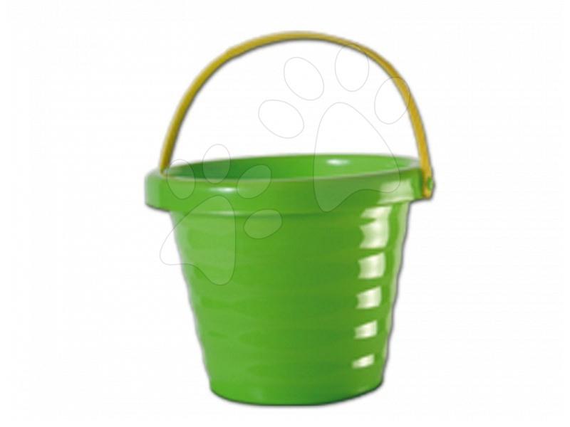 Găleată Dohány verde ondulată (cu înălţime de 14 cm) de la 3 ani