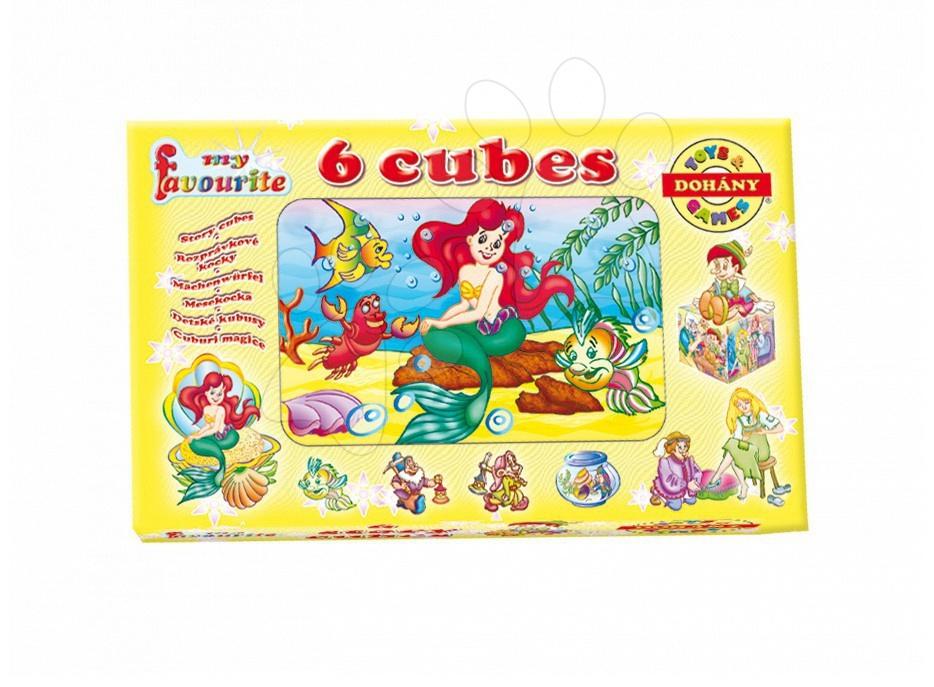 Cuburi cu povești - Cuburi cu poveşti Colecţia mea preferată de poveşti Dohány 6 piese