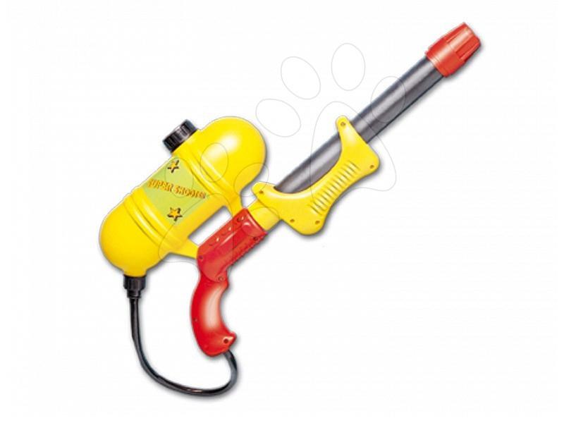 Vodní pistolky - Vodní pistole s nádrží Dohány žluto-červená od 5 let