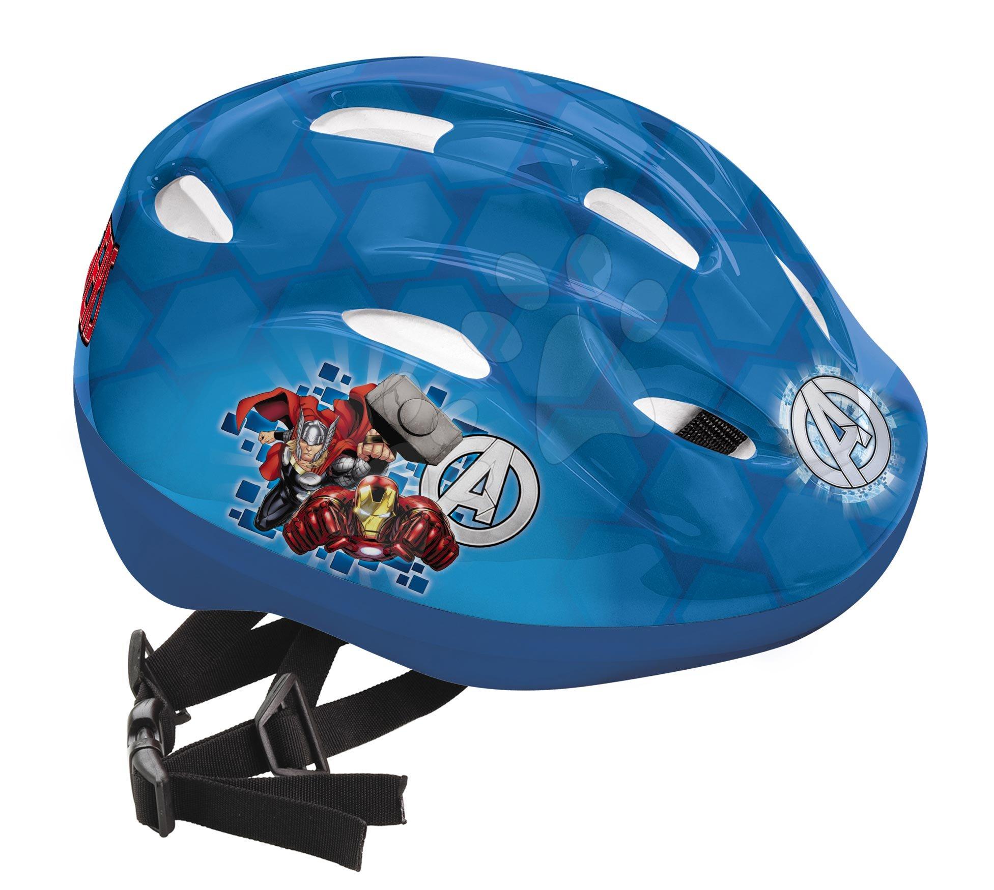 Detské prilby - Prilba Avengers Mondo veľkosť 52-56 modrá