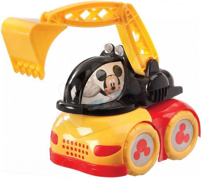 Autá do piesku - Bager Mickey Mouse Mondo (dĺžka 20 cm)