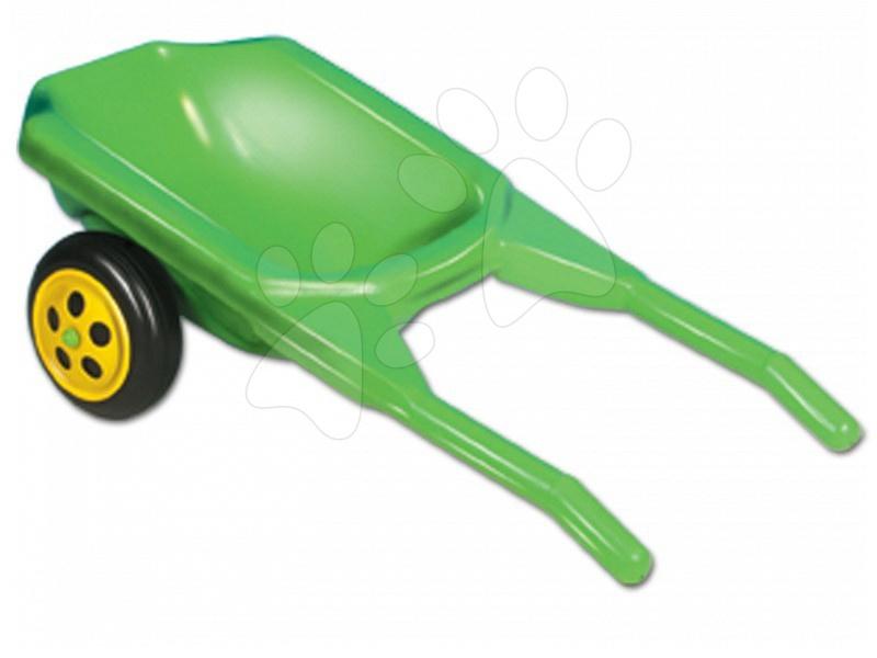 Samokolnica Dohány z 2 koleščkoma zelena
