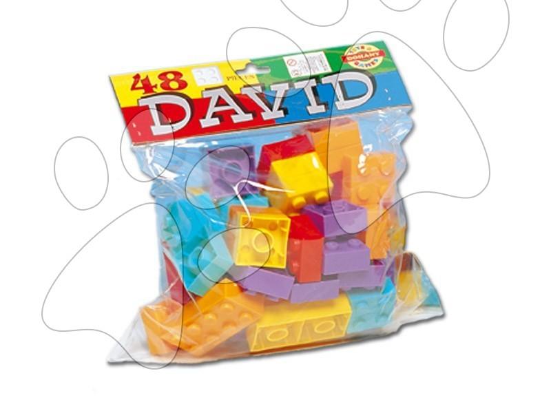 Otroške kocke Dohány - Kocke David Dohány 48 delov od 24 mes