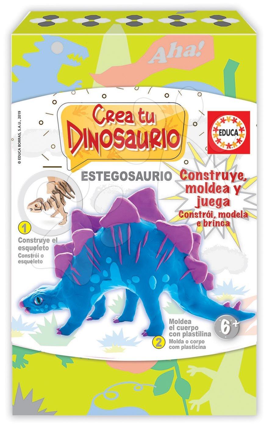 Kreatívna hra Vymodeluj si svojho Dinosaura Stegosaura Educa od 6 rokov