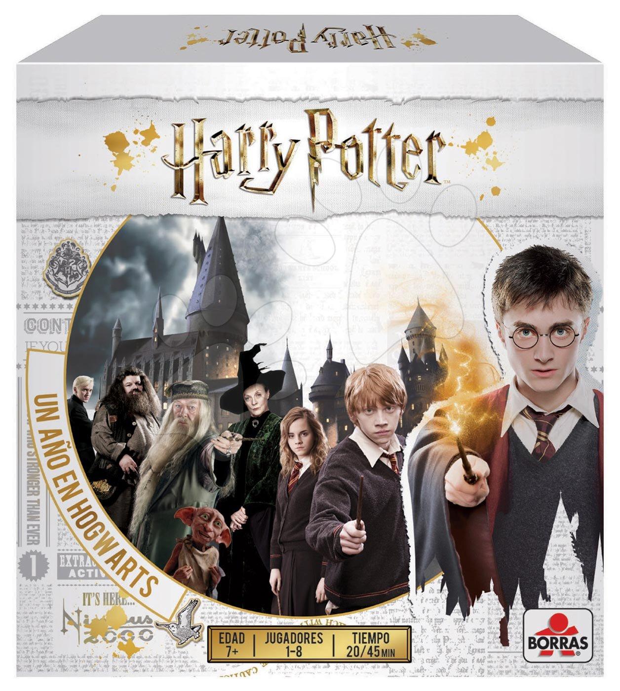 Cudzojazyčné spoločenské hry - Spoločenská hra Harry Potter Borras Educa pre 1-8 hráčov po španielsky od 7 rokov