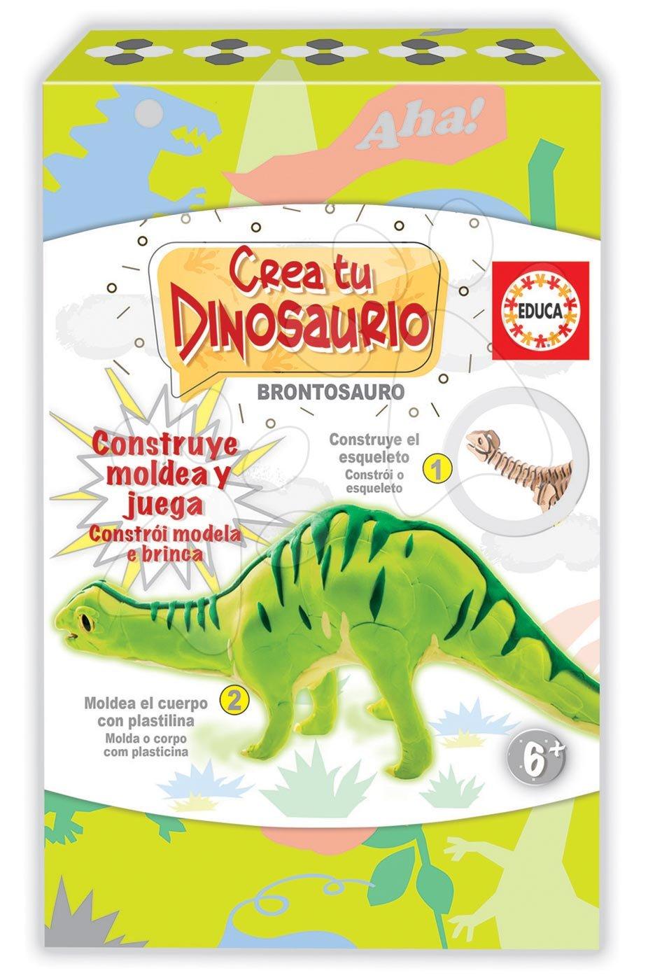 Kreatívna hra Vymodeluj si svojho Dinosaura Brontosaurus Educa od 6 rokov