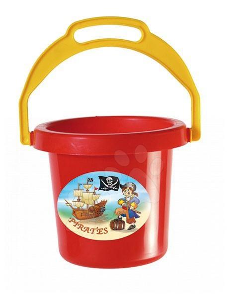 Kbelíky do písku - Kbelík Piráti Dohány (výška 16 cm) od 3 let