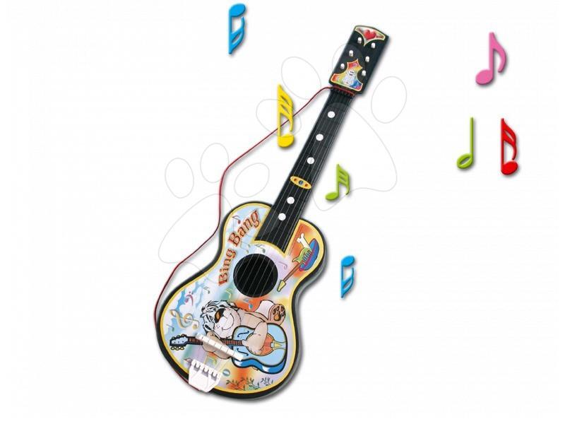 Nagy gitár Dohány ábrával díszítve