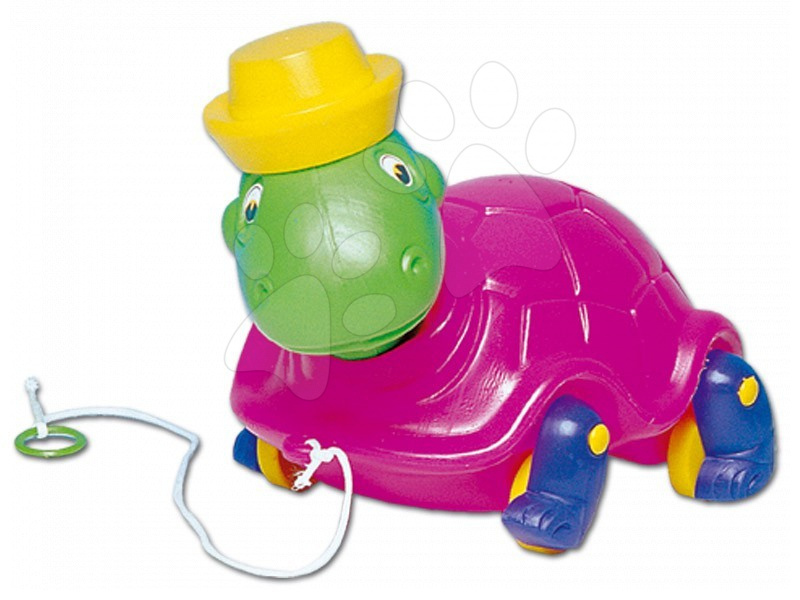 Húzható játékok - Húzható teknősbéka Dohány