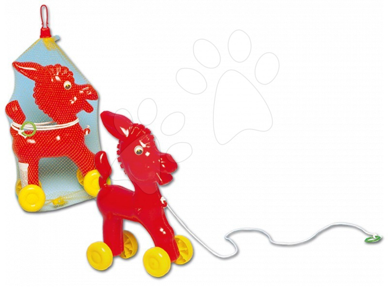 Tahací hračky - Oslík na tahání Dohány #VALUE!