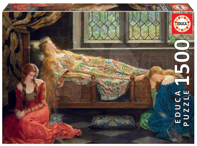 Puzzle Sleeping Beauty Educa 1500 dielov a Fix lepidlo od 11 rokov