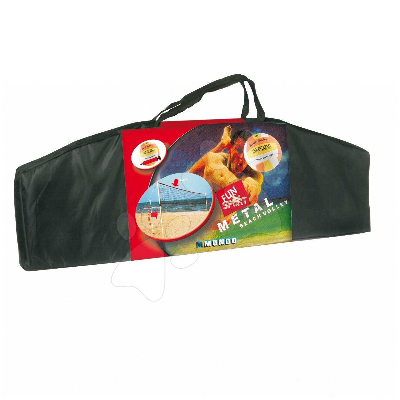 Síť na plážový volejbal Beach volejbal set Pro Mondo #VALUE! od 14 let