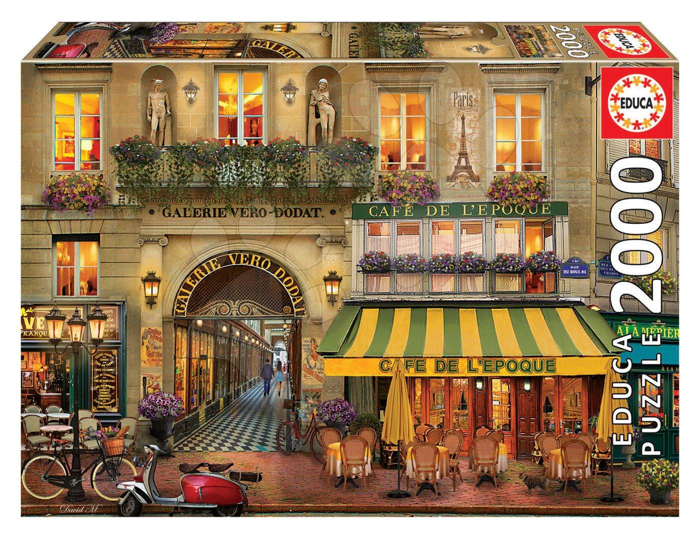 Puzzle Galerie Paris Educa 2000 dílků a Fix lepidlo od 11 let