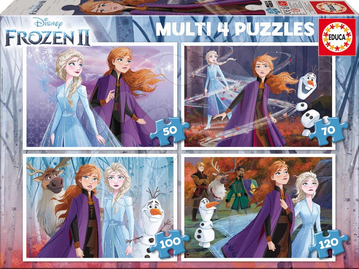 Puzzle Frozen Disney Educa 50-70-100-120 dielov od 5 rokov