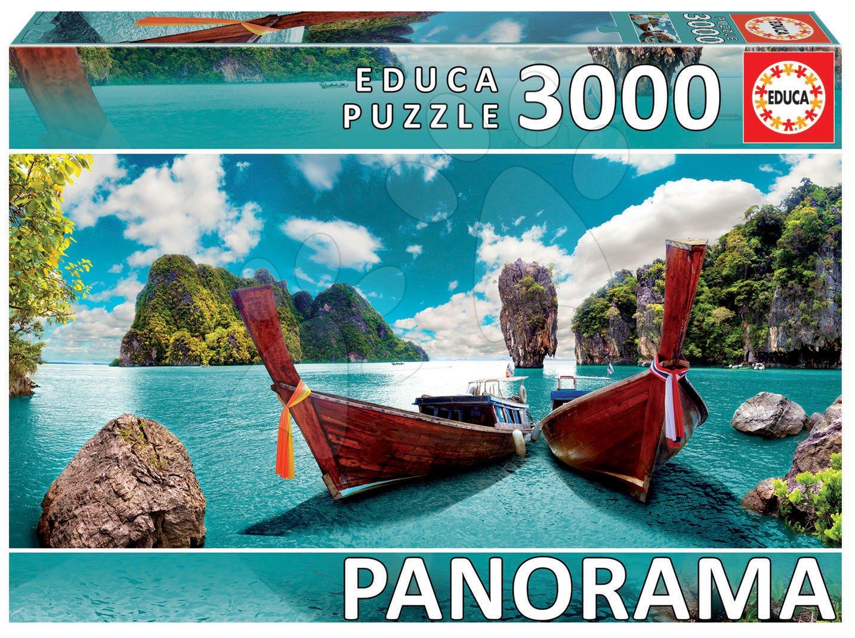 Puzzle panorama Phuket, Thailand Educa 3000 dielov od 11 rokov