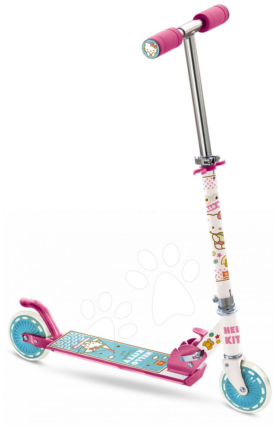 Trotinete cu două roţi - Trotinetă Hello Kitty Mondo ABEC 5 cu două roţi