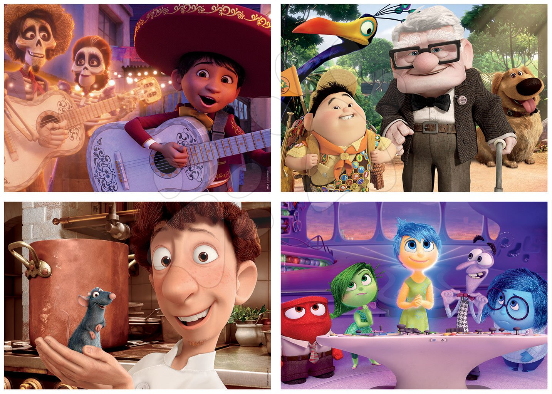 Puzzle Pixar 2 Disney Multi 4 Junior Educa 20-40-60-80 dielov od 4 rokov