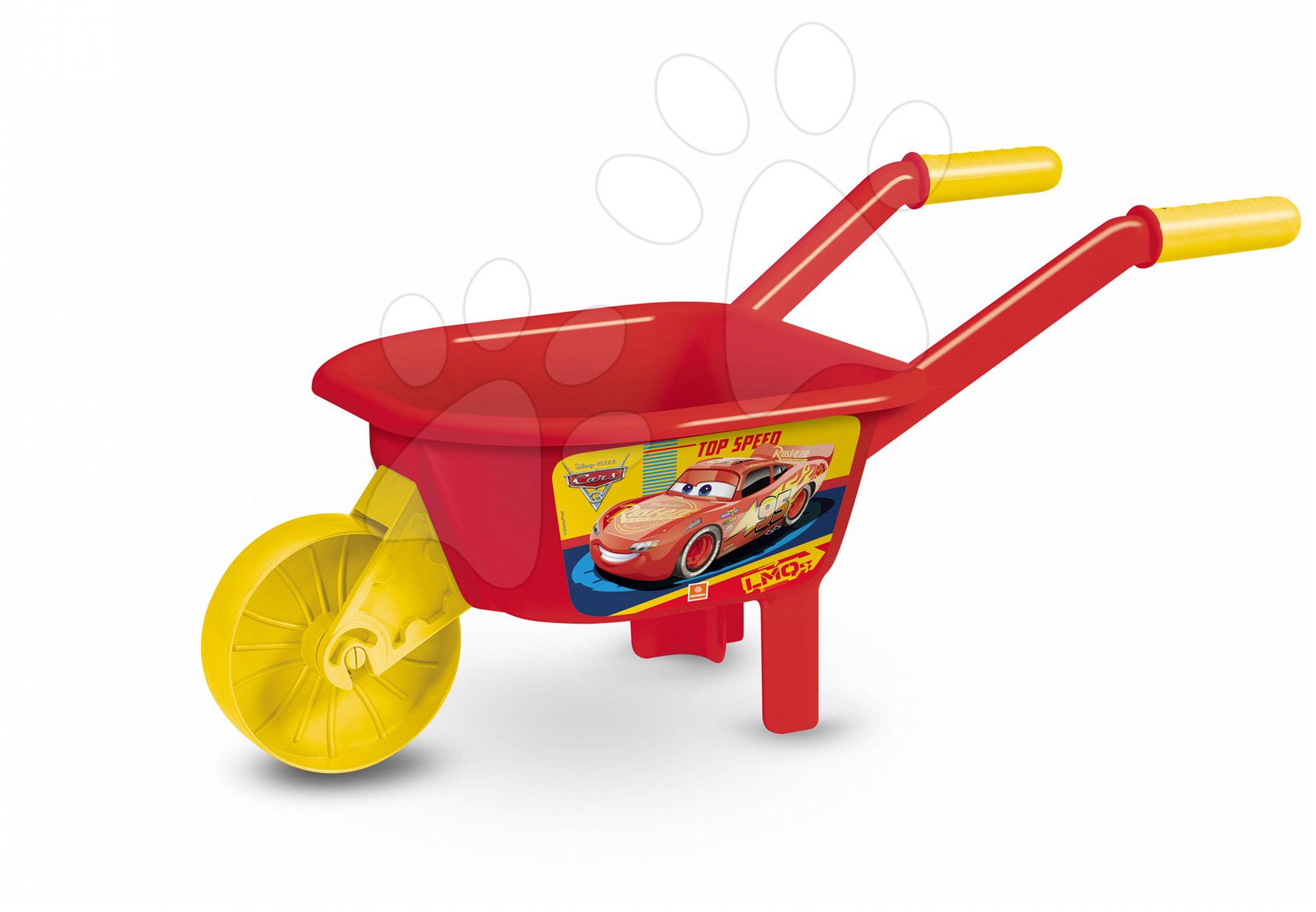 Kolečko Auta Mondo červeno-žlutý od 18 měsíců