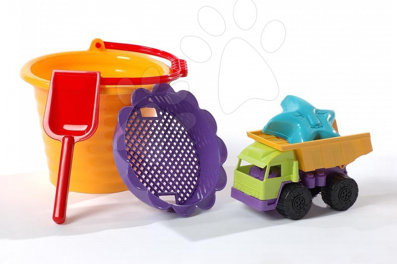 Nezařazené - Vyklápěcí auto Dohány s kbelíkem
