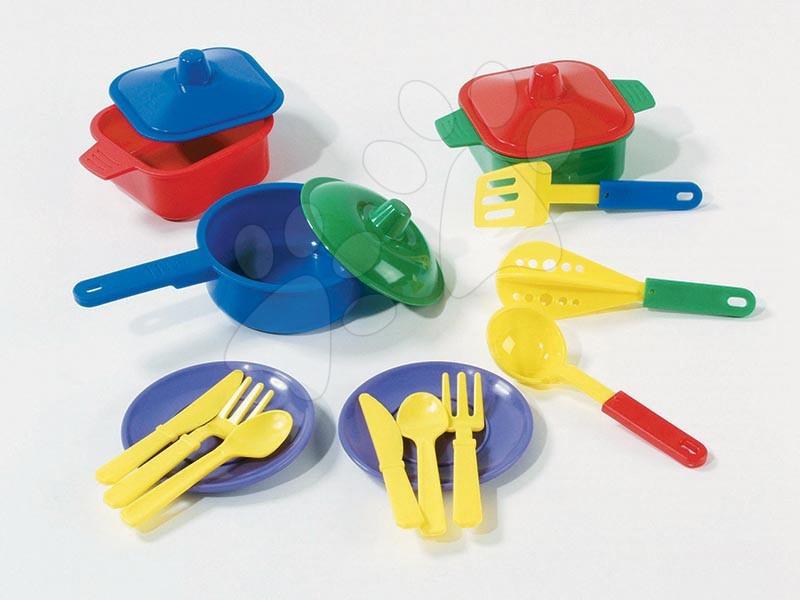Posodice in dodatki za kuhinje - Kuhinjski komplet Dohány z lonci in 17 dodatki