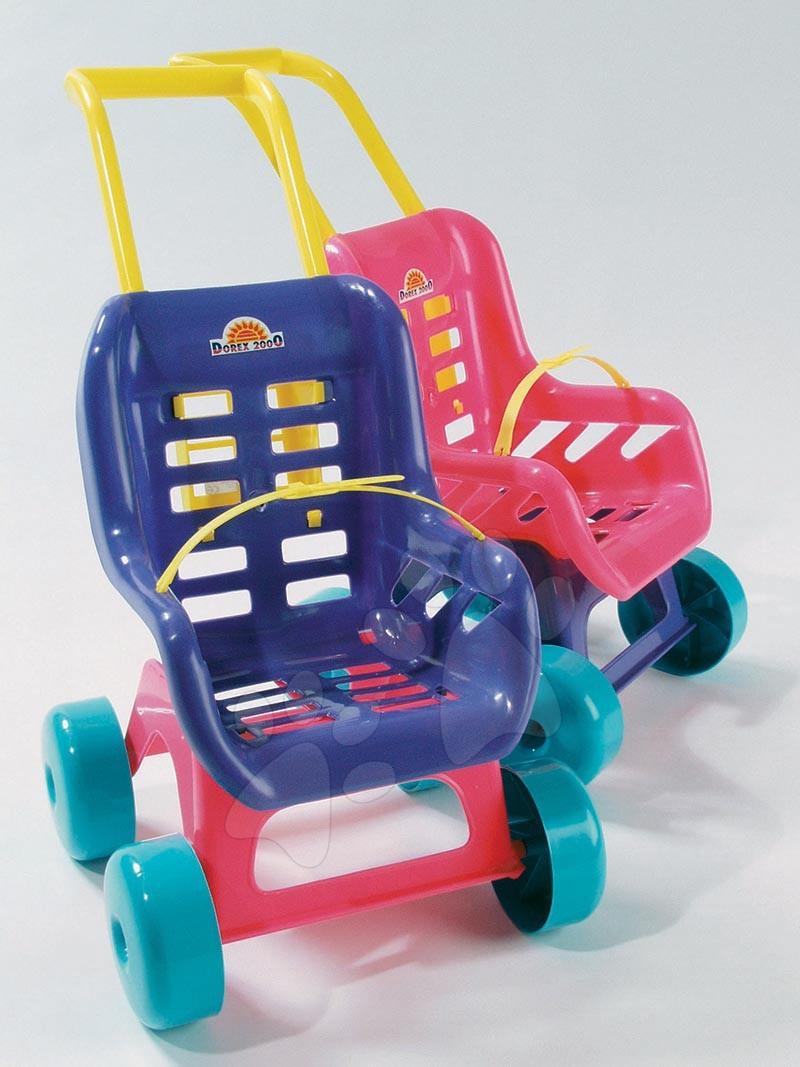 Dohány športový kočík Bugy pre detskú bábiku 5011 fialový/ružový