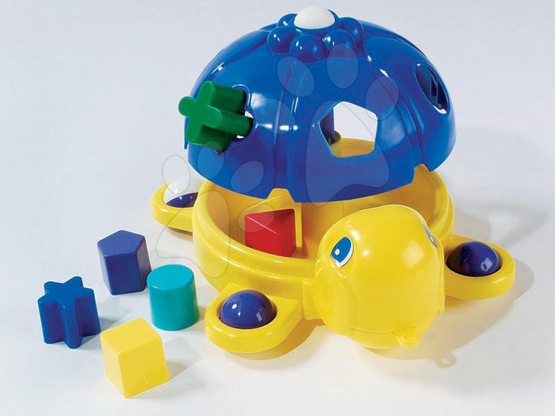 Skládačka Kouzelná želva Dohány modro-žlutá a různé tvary