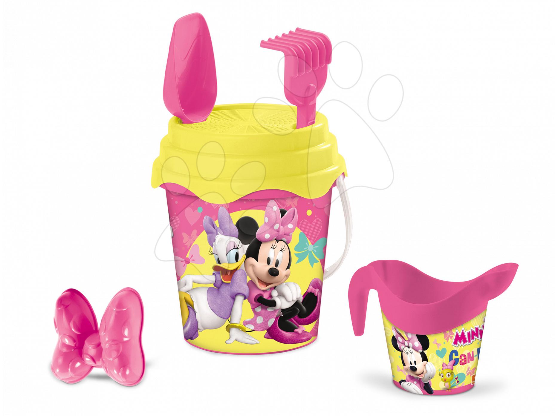 Kbelík set s konví Minnie Mouse Mondo 5 dílů (výška 17 cm) od 18 měsíců