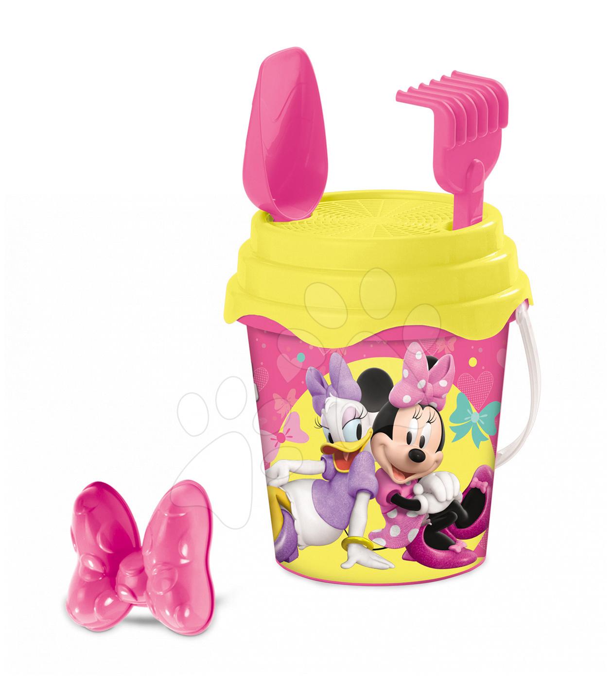 Kbelík set Minnie Mouse Mondo 4 díly (výška 17 cm) od 18 měsíců