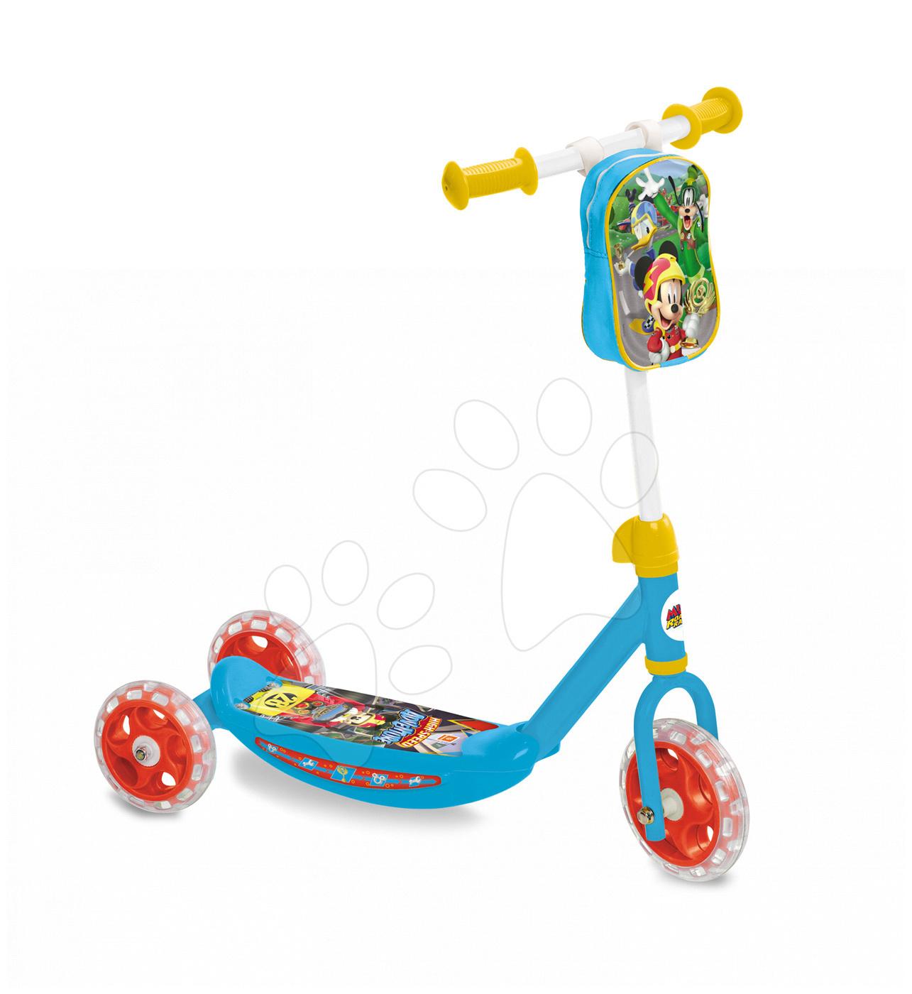 Koloběžka Mickey Mondo s taškou tříkolová