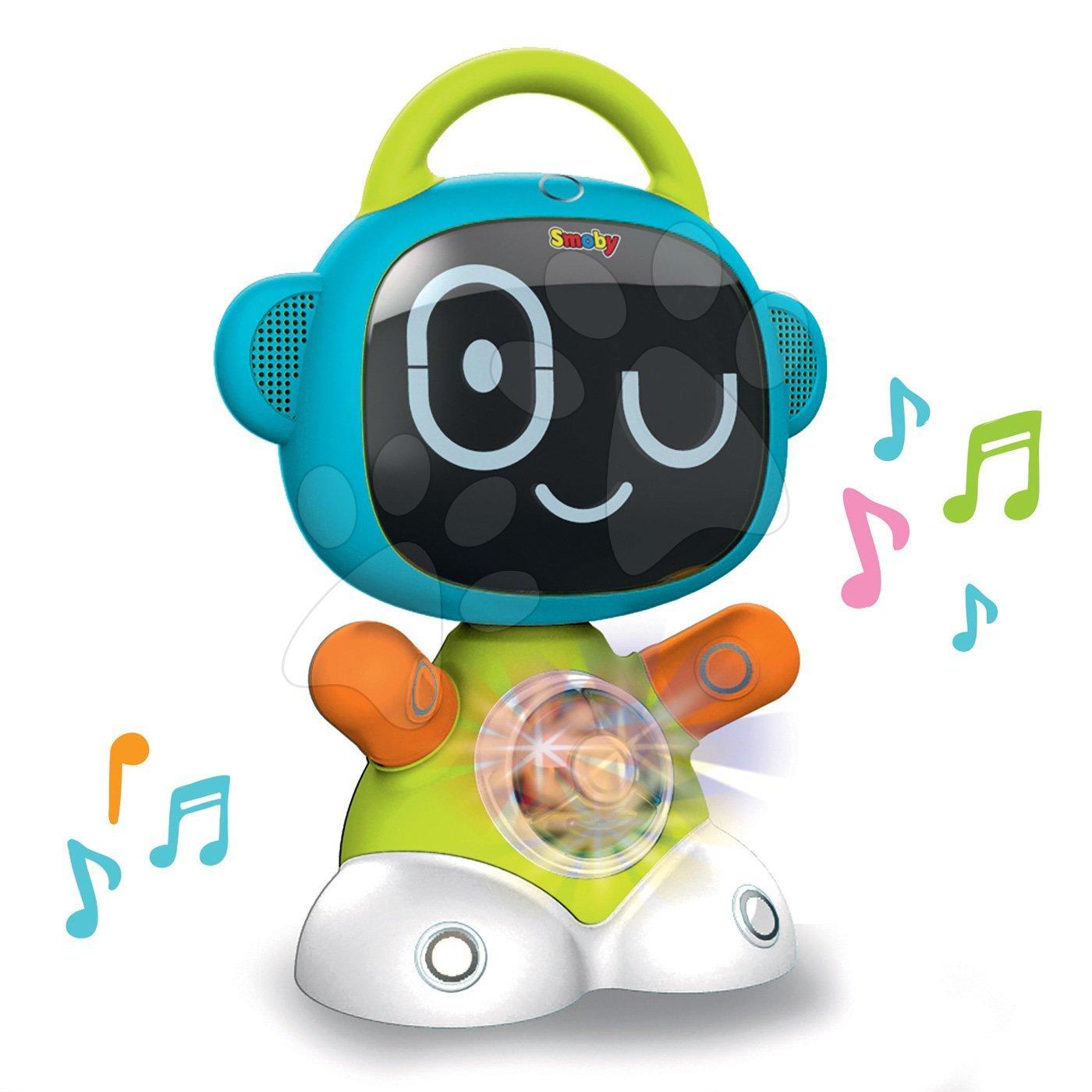 Interaktivne igrače - Interaktivni Robot TIC Smart Smoby s 3 poučnimi igrami (angleško, francosko in nemško)