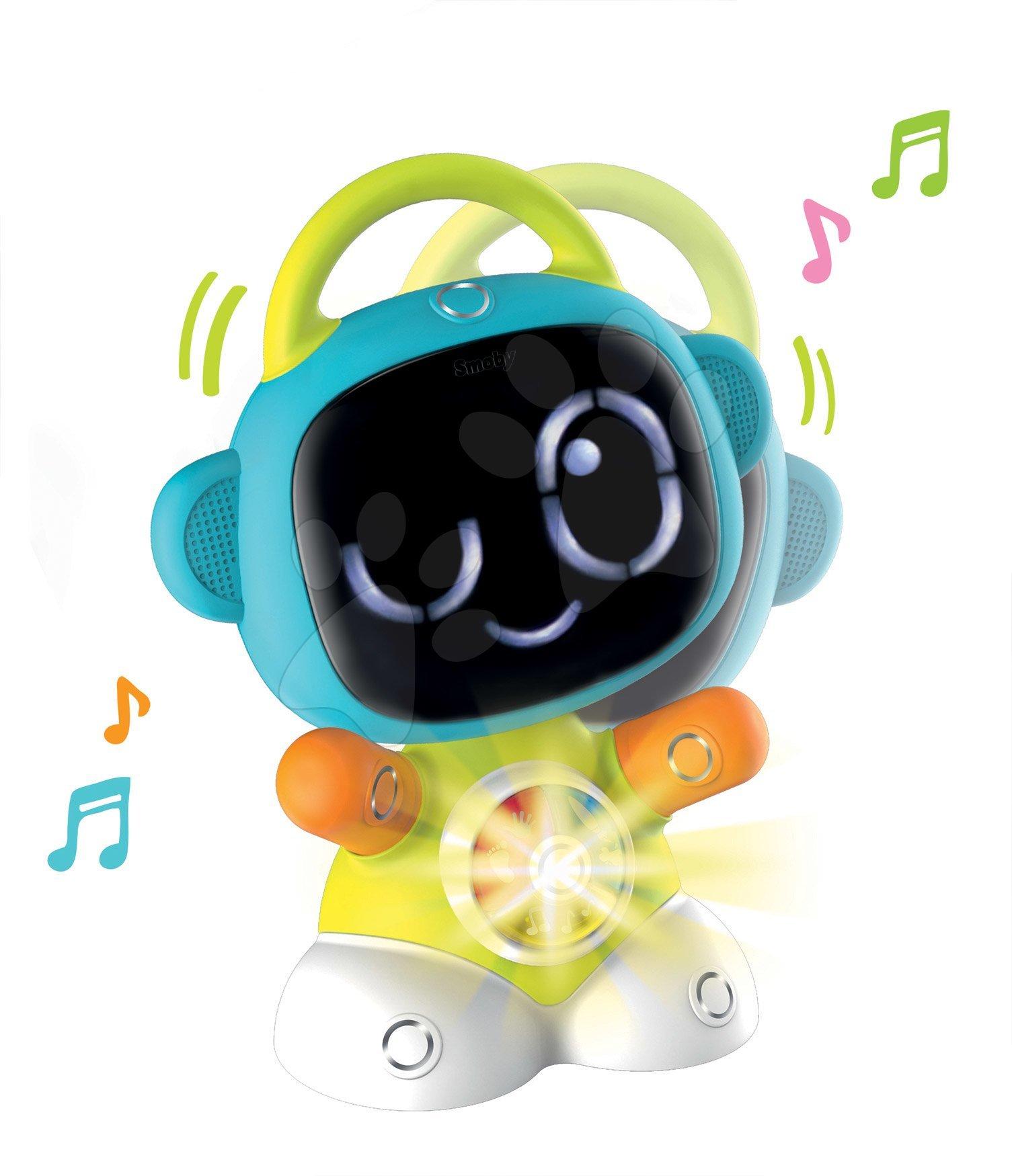 Interaktivne igrače - Interaktivni Robot TIC Smart Smoby s 3 poučnimi igrami