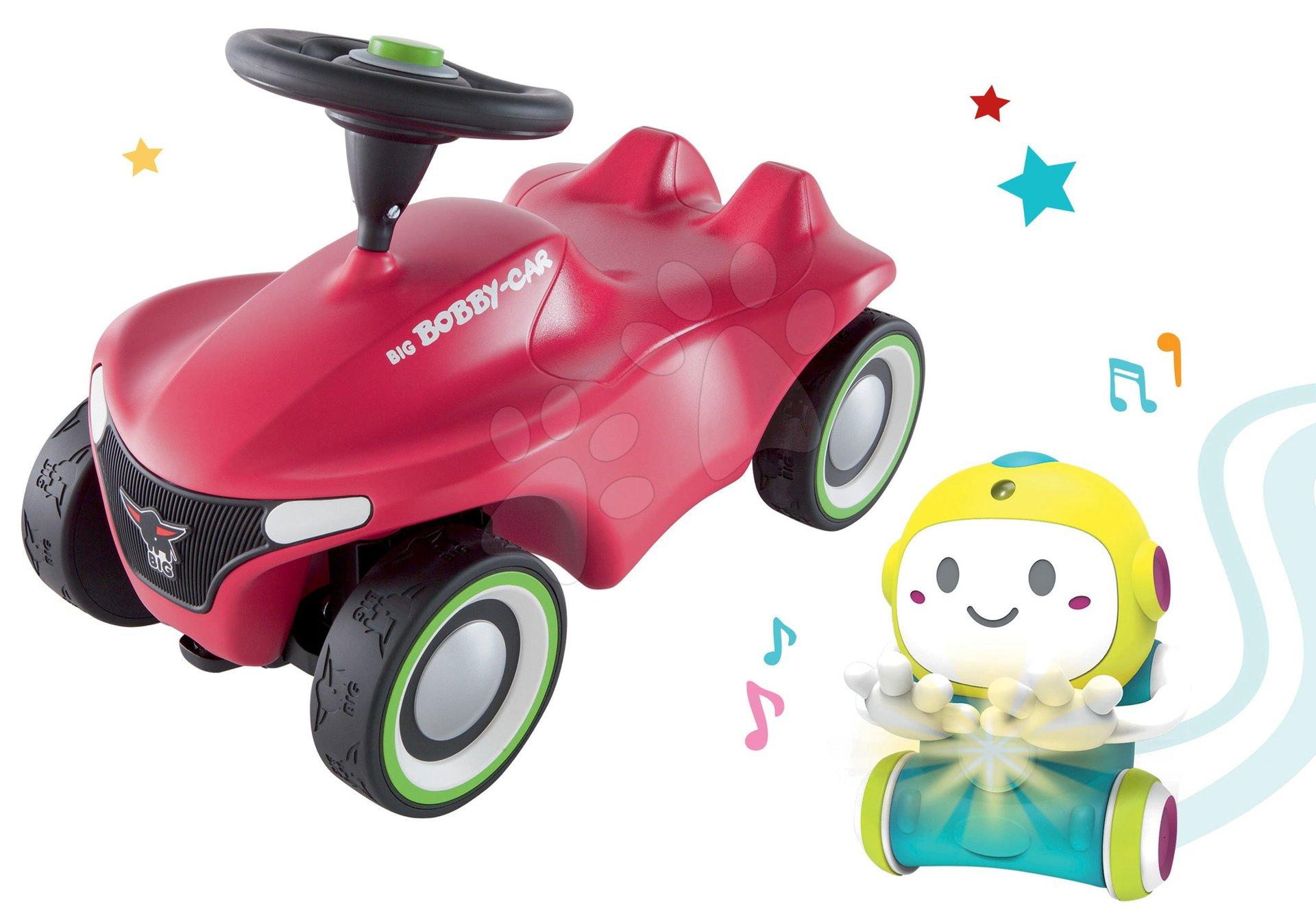 Set Interaktívny Robot 1,2,3 Smart Smoby a odrážadlo auto Bobby Car Neo Pink