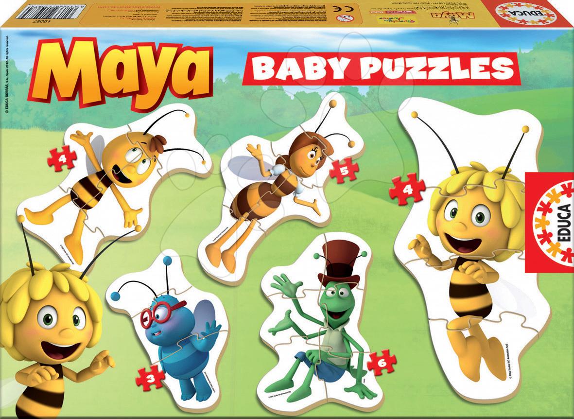 Baby puzzle Včelka Mája Educa 5obrázkové od 24 měsíců