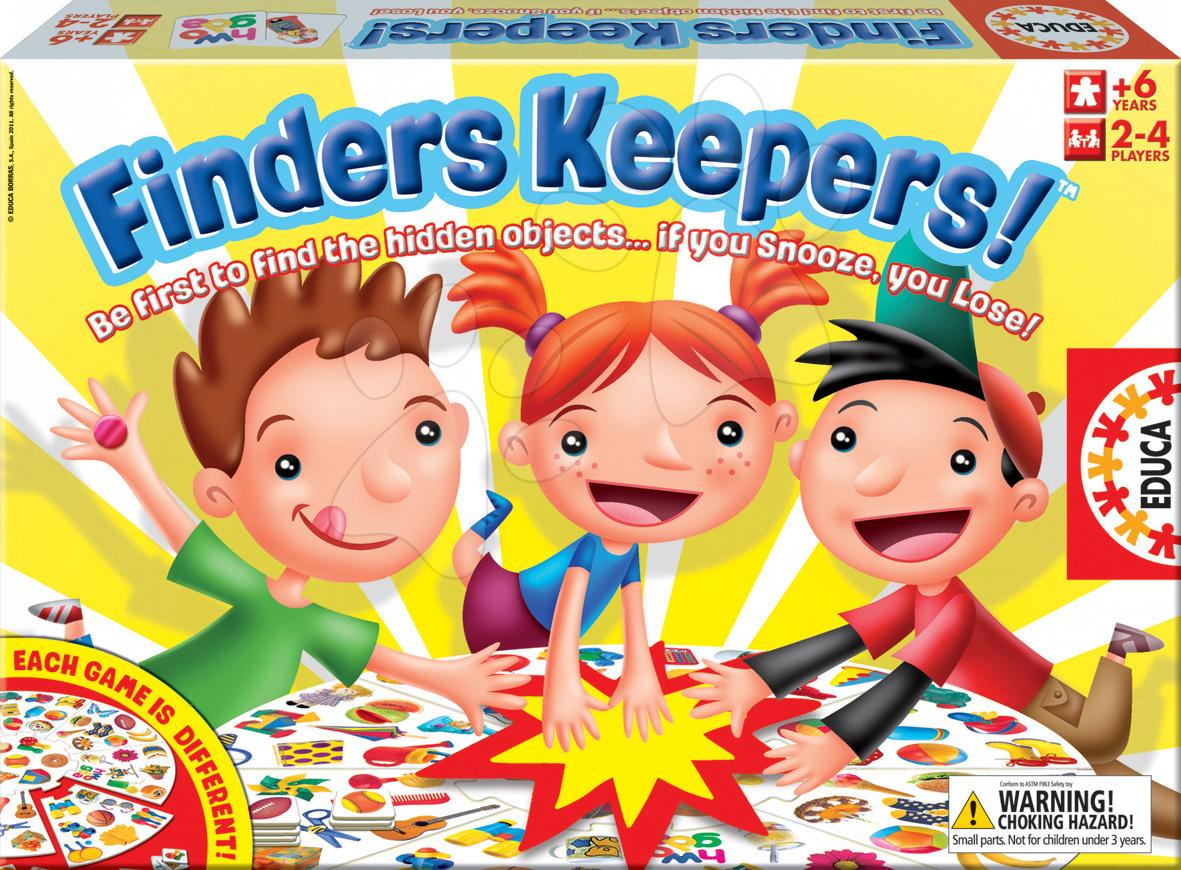 Spoločenská hra Finders Keepers Educa vangličtine
