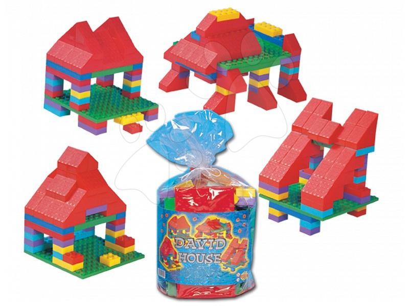 Cuburi de construit Dohány - Cuburi David House - căsuţă Dohány de la vârsta de 18 luni de la 24 luni