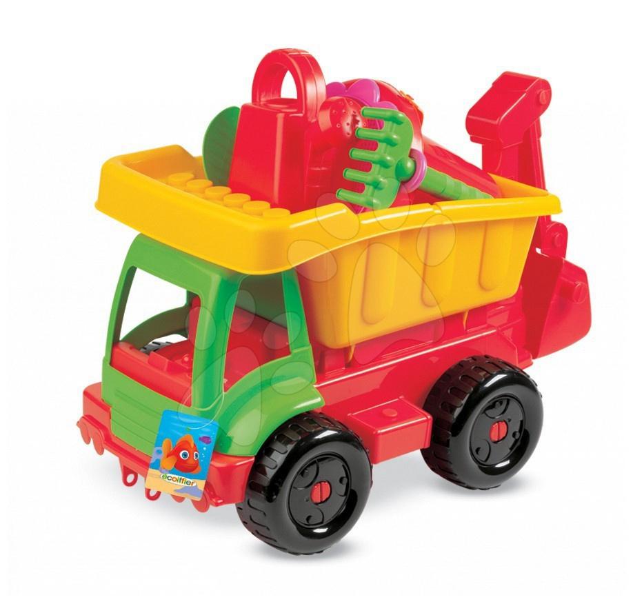 Régi termékek - Dömperes autó vödör szettel Maxi Écoiffier 5 kiegészítővel 18 hó-tól