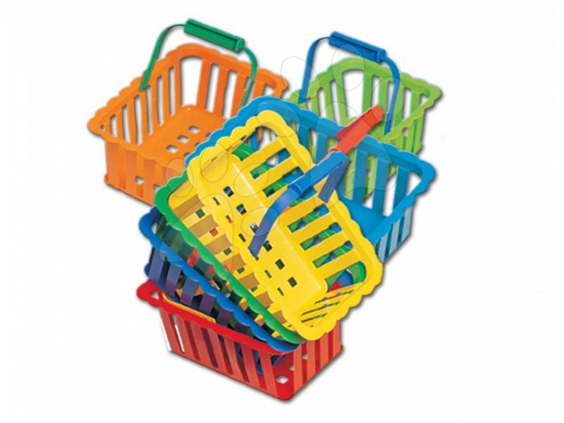 Accesorii și vase de bucătărie de jucărie - Coș mare picnic Dohány cu diferite culori
