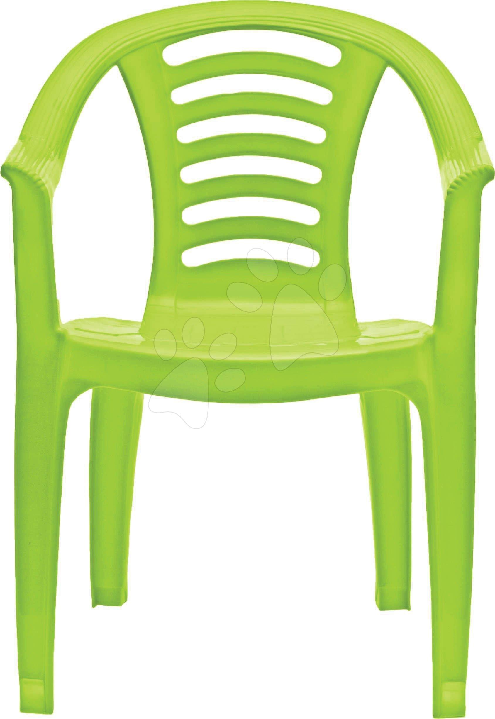 Dětská židle PalPlay zelená