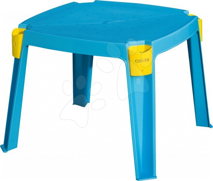 Detský záhradný nábytok - Stôl PalPlay s vreckami na rohoch